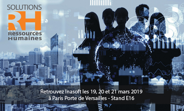 Inasoft présent au Salon Solutions RH 2019 à Paris