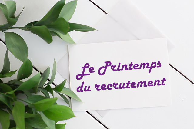 Inasoft participe au Printemps du recrutement le 14 Mars