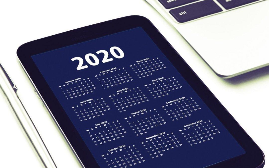 Agenda des événements RH 2020